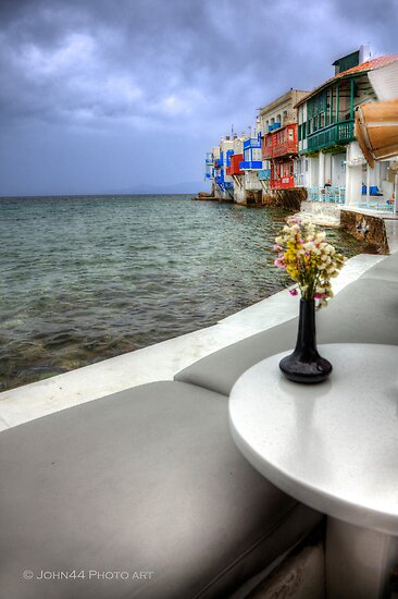 Sea view in Mykonos-Greece  (FEATURED & 2 sales) by John44