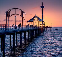 Brighton Sunset by Ray Warren
