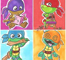 Turtle Tots by 13riana008