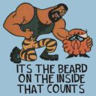 Its the beard on the inside that counts by jsbdesigns