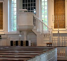 Christ Church interior by Kelly Morris