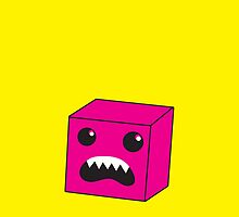 PINK box monster by jazzydevil