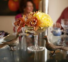 The Luncheon Table by Christina Backus