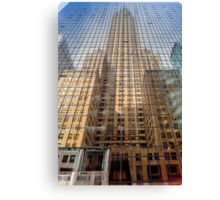 Reflective Empire Canvas Print