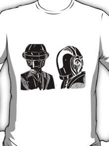 Daft punk sharpie drawing T-Shirt