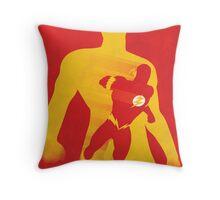 JLA: Flash Minimalist Comics Justice League of America Throw Pillow