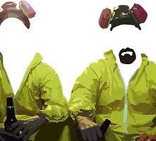 Walt & Jesse by Zachary Maynard