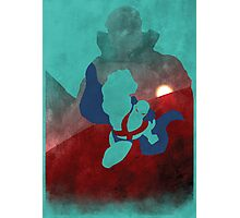 JLA: Martian Manhunter Minimalist Comics Justice League of America Photographic Print