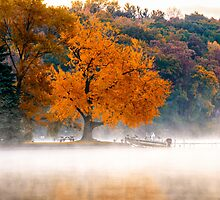 End of the Season - Lake James, Angola, Indiana by Mike Koenig