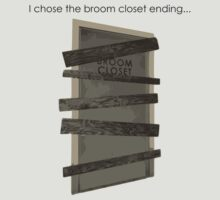 Stanley Parable - Broom Closet by WillFrost
