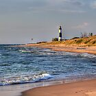 Big Sable Lighthouse - Ludington State Park by Megan Noble