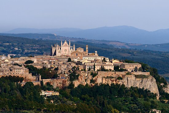 Orvieto, Umbria, Italy by Andrew Jones