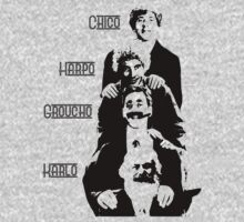 Communist Marx Brothers - Light background by Buddhuu