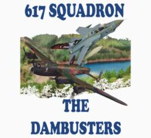 The Dambusters 617 Squadron Tee Shirt 2 by Colin J Williams Photography