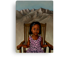 Girl from the Mountain Kingdom Canvas Print