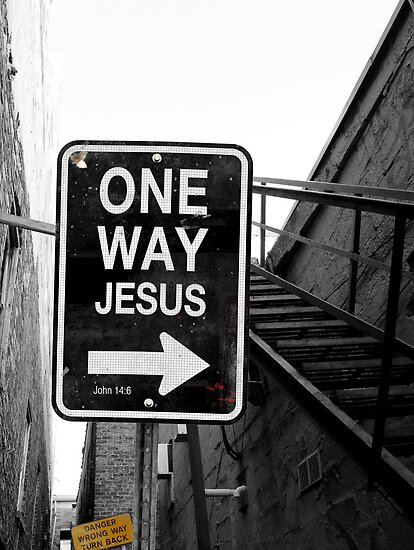 jesus one way - photo #9