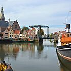 My birthplace Maassluis - Netherlands by Arie Koene