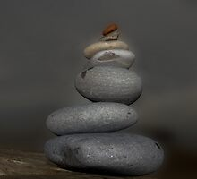 Stone stack by Graham McAndrew