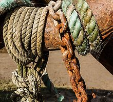 Ropes and rust by Beverley Goodwin