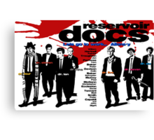 Reservoir Docs (Print) Canvas Print