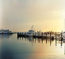 Sunrise In The Harbor - Atlantic Highlands - NJ by MotherNature