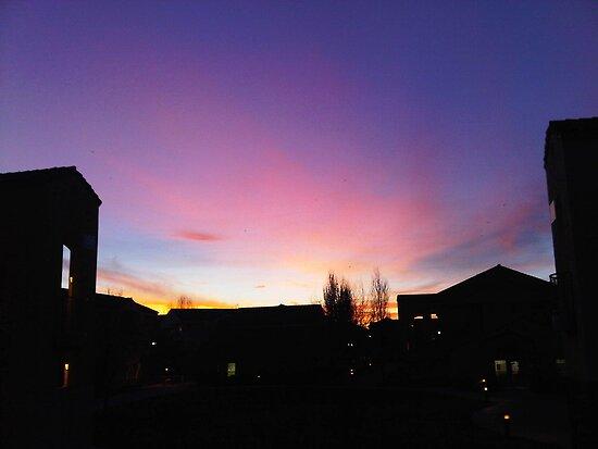 Davis Sunset by omhafez