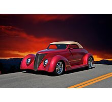 1937 Ford Cabriolet I Photographic Print