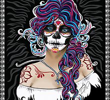 Dia de los Muertos (Day of the Dead) by Tobin  Pilotte
