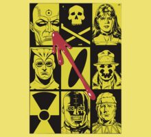 Watchmen cover by santilopez