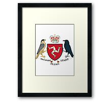 Isle of Man   Europe Stickers   SteezeFactory.com Framed Print