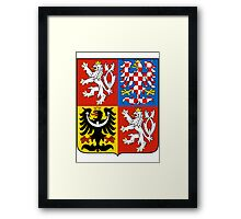 Czech Republic | Europe Stickers | SteezeFactory.com Framed Print