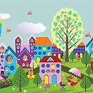 Birdtown by Margaret Krajnc