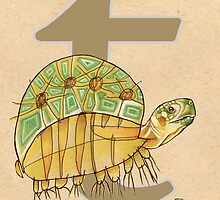 T is for TURTLE by busymockingbird