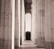 Lincoln Columns by csphoto2014