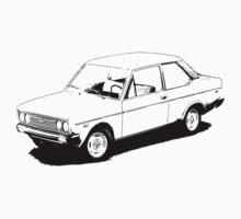 FIAT 131/Mirafiori  by garts