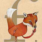 F is for FOX by busymockingbird