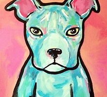 Pittbull Pop Pup by Stolensouljess