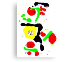 Unique Abstract Digital Art Canvas Print