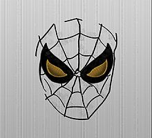 Spider Man [Cases White] by V-Art