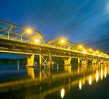 Shoalhaven River Bridge by Peter Doré