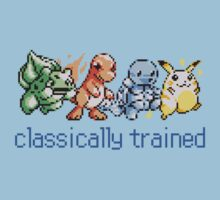Classically Trained (Classic Pokemon Sprites) by RWHTL
