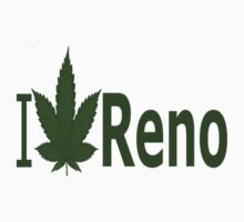 0169 I Love Reno by Ganjastan