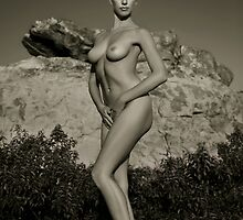 Art Nudes at mountains in California 3 by Anton Oparin
