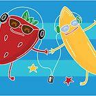 Banana+Strawberry=The best friends by Mila Murphy