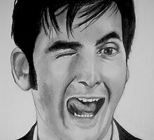 David Tennant by inkandstardust