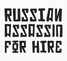 Russian Assassin for Hire by troikasson