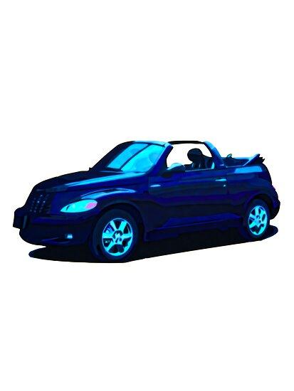 2005 Chrysler PT Cruiser convertible by boogeyman
