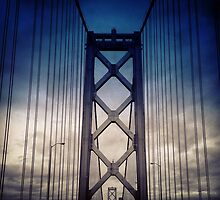 Bay Bridge Gloom by omhafez