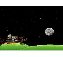 The night of the meteor 1 Photographic Print