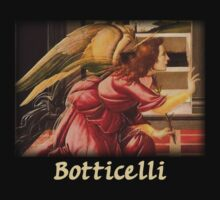 Botticelli - Angel  by William Martin